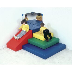 Primary 5 Piece Toddler Pyramid Play Center Set By Children's Factory