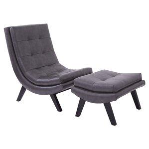 Woodbine Lounge Chair And Ottoman