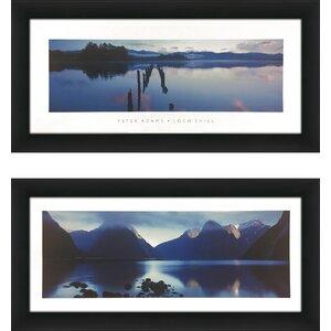 'Loch Shiel' 2 Piece Framed Photographic Print Set by Latitude Run