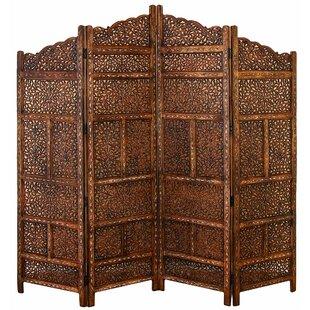 Elegant Markley 4 Panel Room Divider