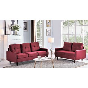 Umar 2 Piece Living Room Set by Brayden Studio®