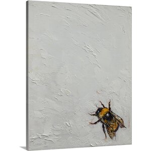 Bumblebee by Michael Creese Painting Print on Canvas by Canvas On Demand