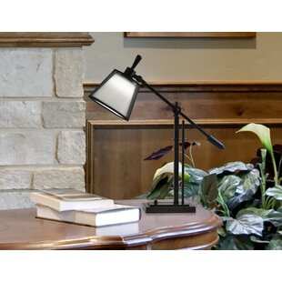 Compare prices Mcdonell LED 27 Desk Lamp By Winston Porter