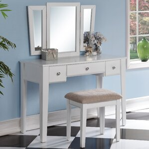 Runcorn Vanity Set with Mirror by Latitude Run