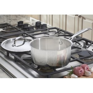2 Qt. Stainless Steel Sauce Pan with Lid
