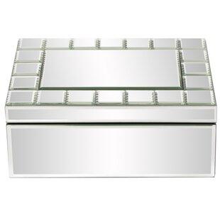Price comparison Mirrored Rectangular Jewelry Box ByLatitude Run