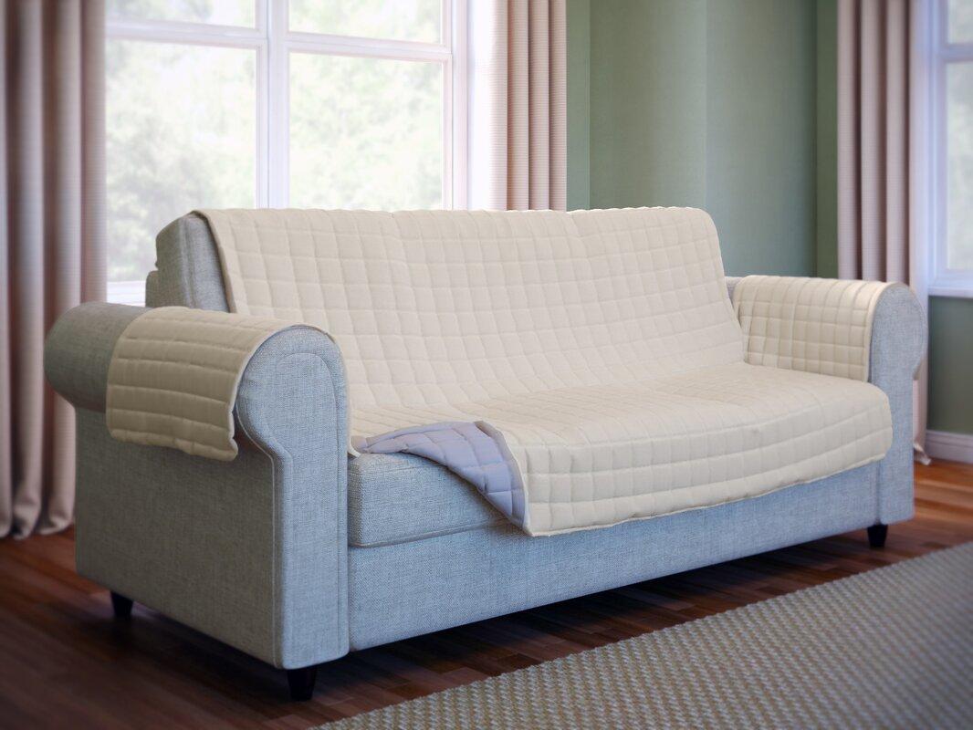 Wayfair Basics™ Wayfair Basics Box Cushion Sofa Slipcover & Reviews