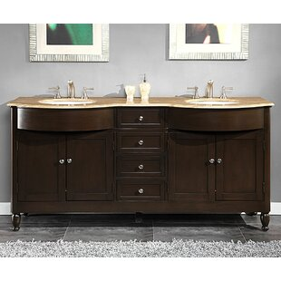 Buy luxury Davian 72 Double Bathroom Vanity Set By Darby Home Co