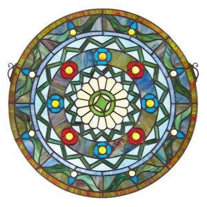 Kaleidoscope Stained Glass Window by Design Toscano