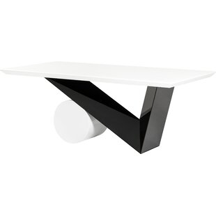 Clower Wood Base Dining Table by Orren Ellis