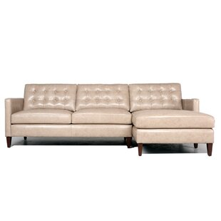 Rockport Leather Modular Sectional