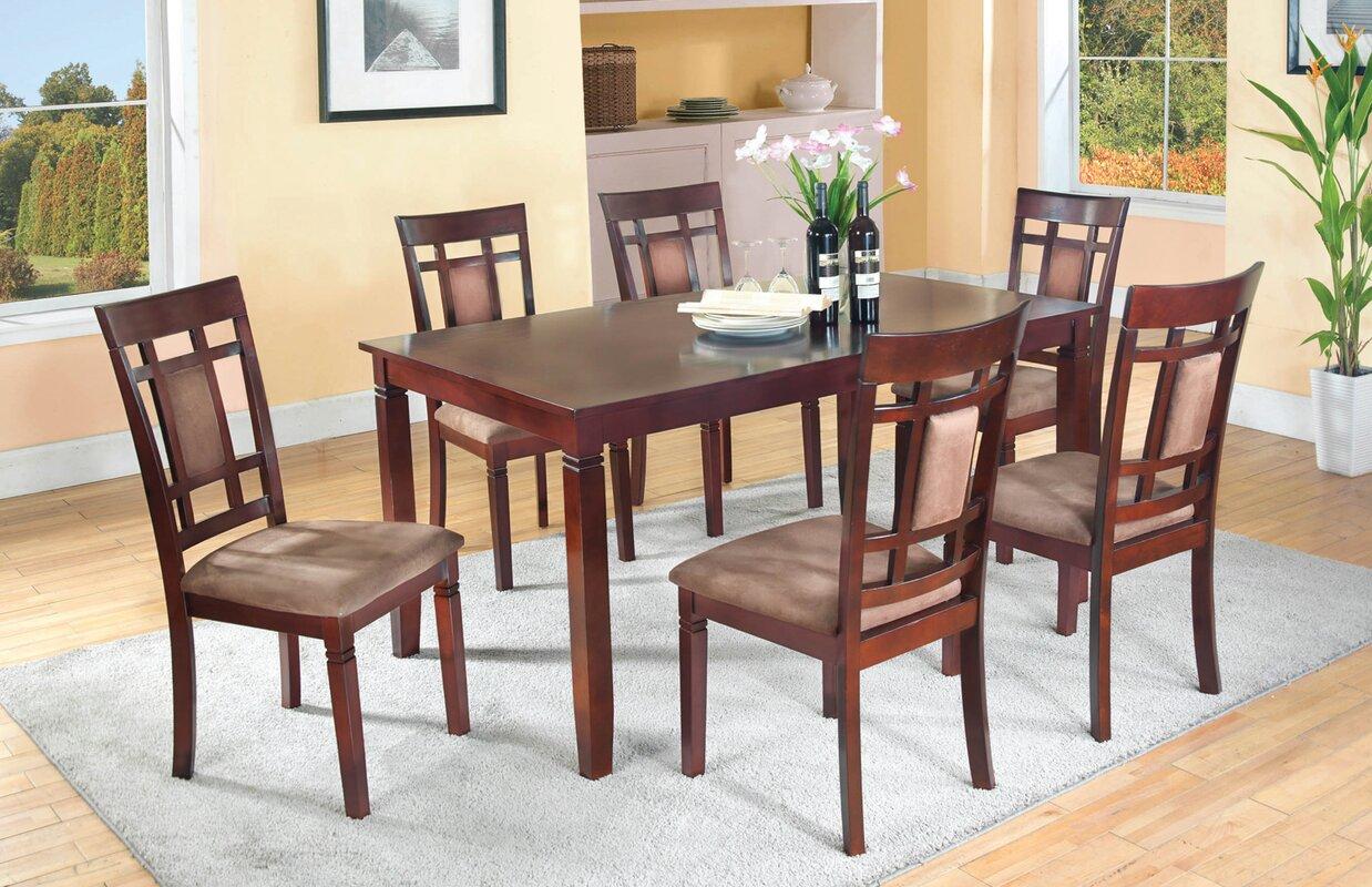 Darby Home Co Patrick 7 Piece Dining Set & Reviews   Wayfair