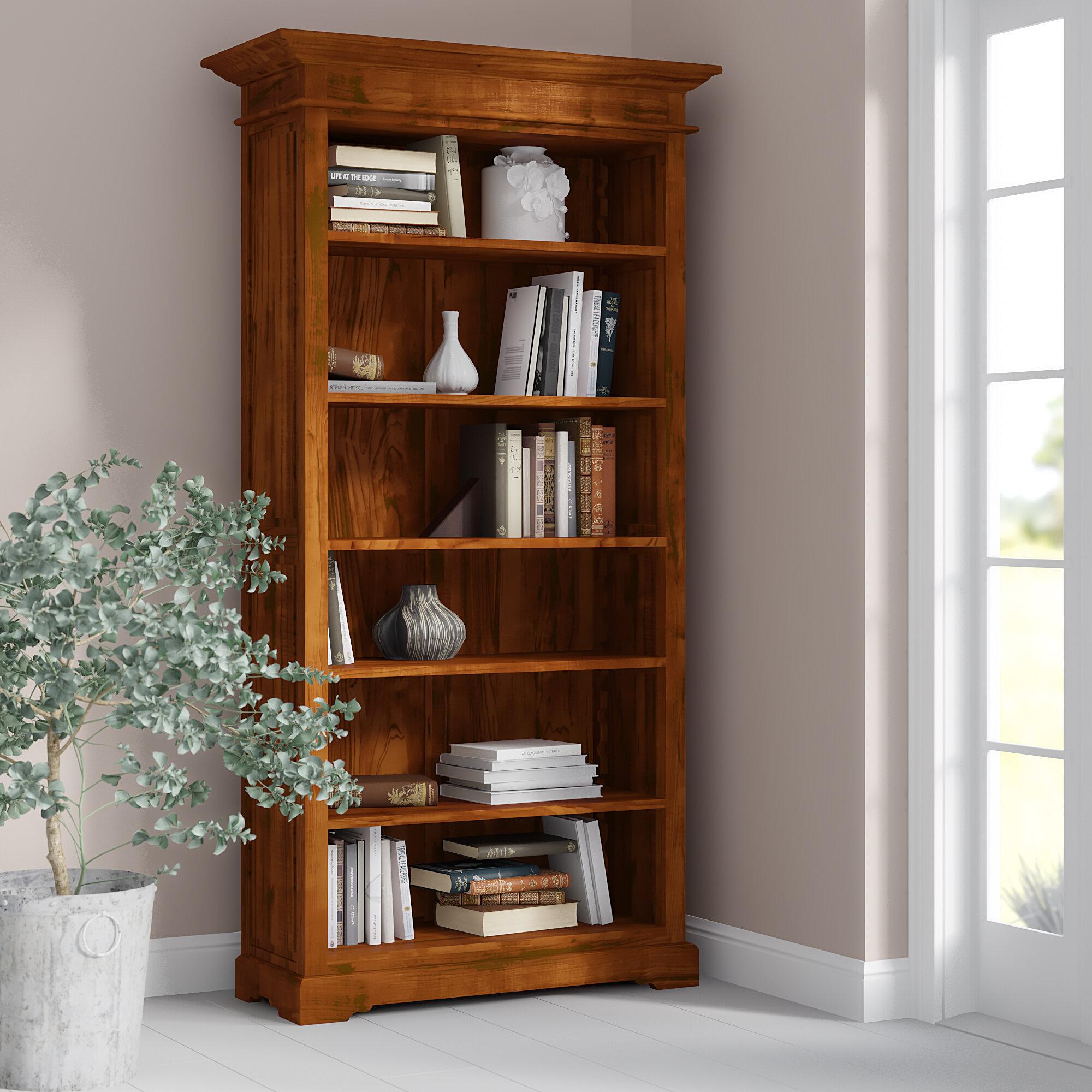Adlington Solid Wood Bookcase