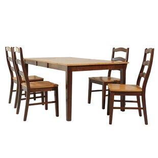 Stettler 5 Piece Dining Set By TTP Furnish