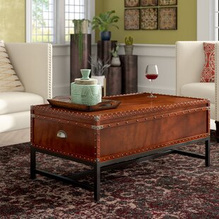 Mojica Coffee Table Trunk by World Menagerie