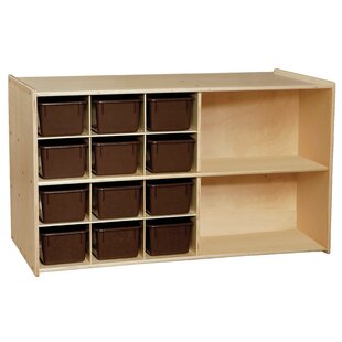 Read Reviews Contender Double 14 Compartment Cubby ByWood Designs