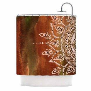 Compare & Buy Mandala Shower Curtain ByEast Urban Home