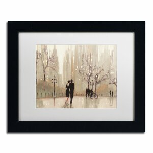 'An Evening Out Neutral' by Julia Purinton Framed Painting Print by Trademark Fine Art