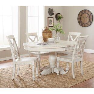 Eminence 5 Piece Extendable Dining Set ByOphelia & Co.