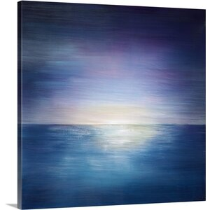 'Sunset Pearl' by Kari Taylor Painting Print on Canvas by Great Big Canvas