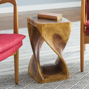 Comparison Pelley Twist End Table By Mercury Row