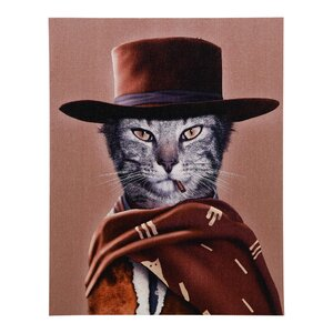 Pets Rock™ Western Graphic Art on Wrapped Canvas by Empire Art Direct