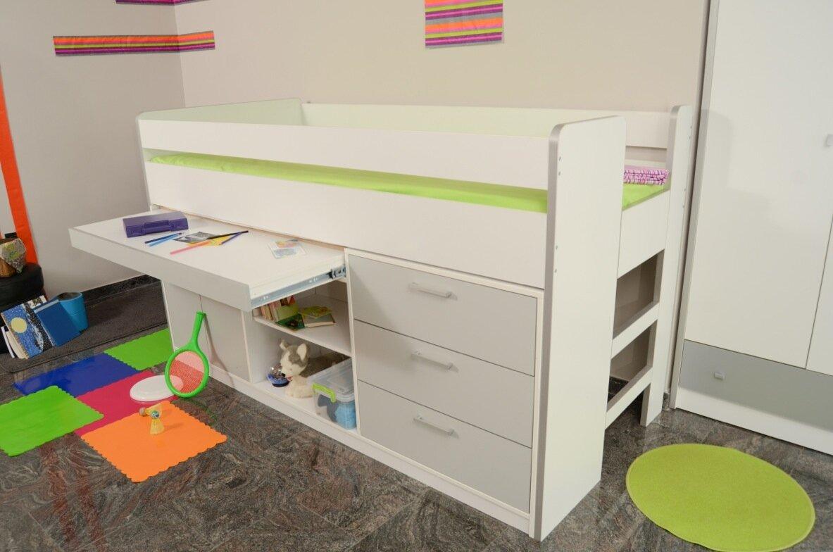 Etagenbett Bonny : Fabelhafte hochbett kinder etagenbett mit