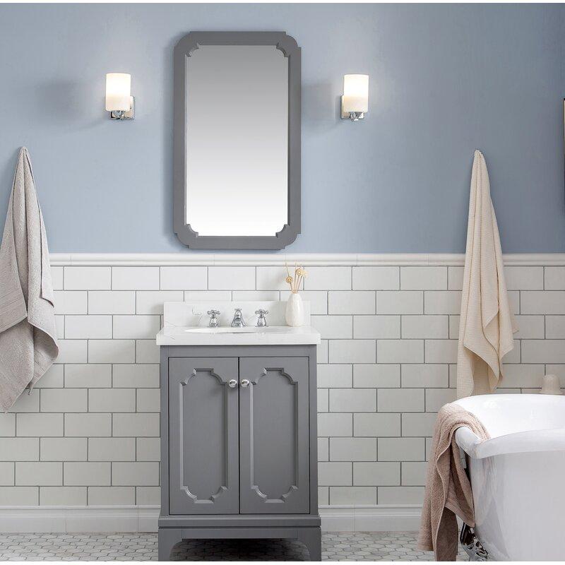 Kylan 24 Single Bathroom Vanity Set With Mirror