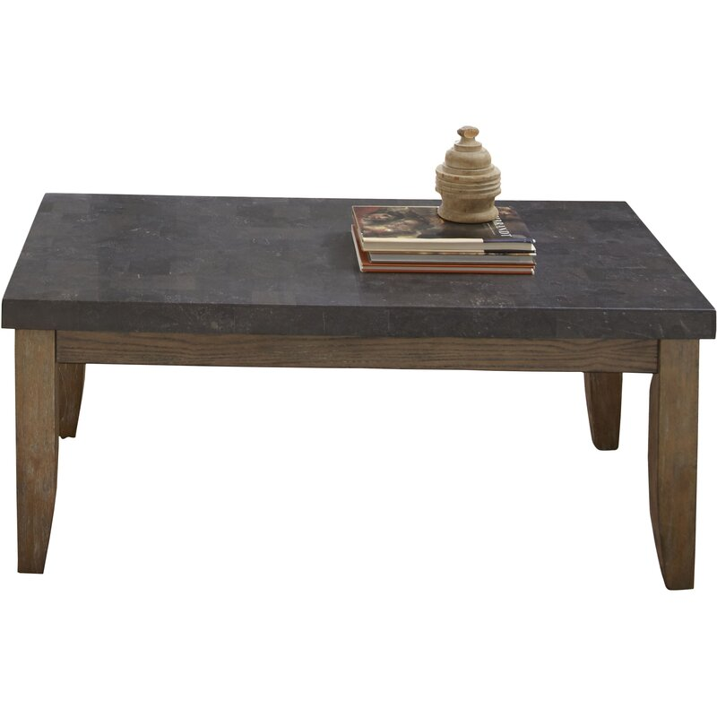 Charming Pine Knob Bluestone Coffee Table