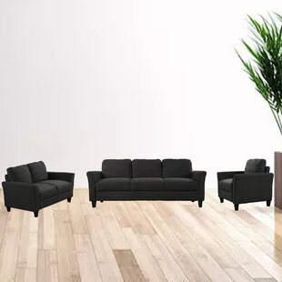 Braegha 3 Piece Living Room Set by Red Barrel Studio®