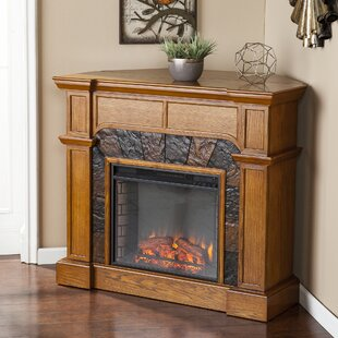 Portola Valley Corner Electric Fireplace