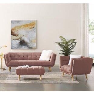 Shedrake 2 Piece Standard Living Room Set by Wrought Studio™