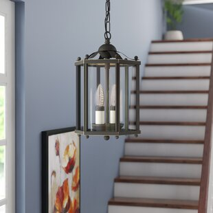 Sussex 2-Light Foyer Pendant by Three Posts
