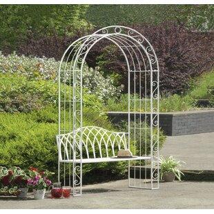 Exceptionnel Abbas Cast Iron Arch Garden Bench