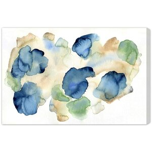Bunches of Hydrangeas Painting Print on Wrapped Canvas by Wade Logan