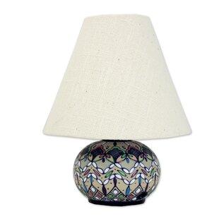 Affordable Price Springtime in Guanajuato 8.25 Table Lamp By Novica