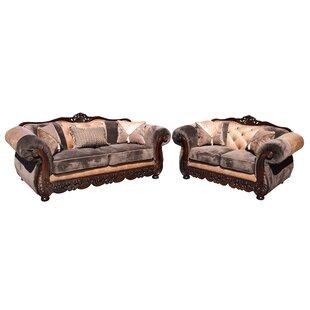 Savanah Sofa and Loveseat Set