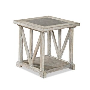Osgood End Table by Rosecliff Heights