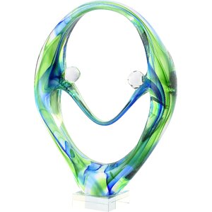 Ryo Glass Snake Sculpture