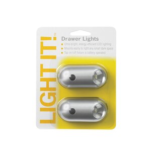 Order Fulcrum Battery LED Under Cabinet Puck Light By Light It!