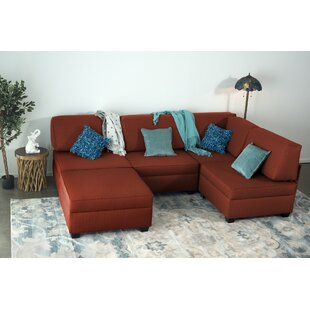 Anke Multi-Functional Reversible Modular Sectional with Ottoman