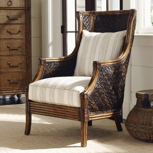 Bali Hai Rum Beach Wingback Chair Tommy Bahama Home