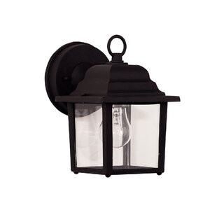 Comparison Vantassel 1-Light Outdoor Wall Lantern By Winston Porter