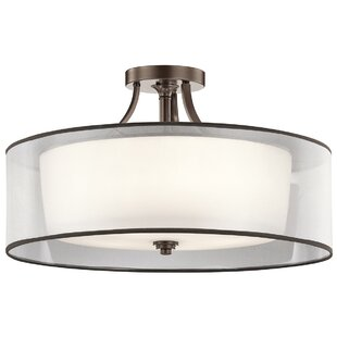 Best Reviews Lightle 5 Light Semi Flush Mount By Darby Home Co