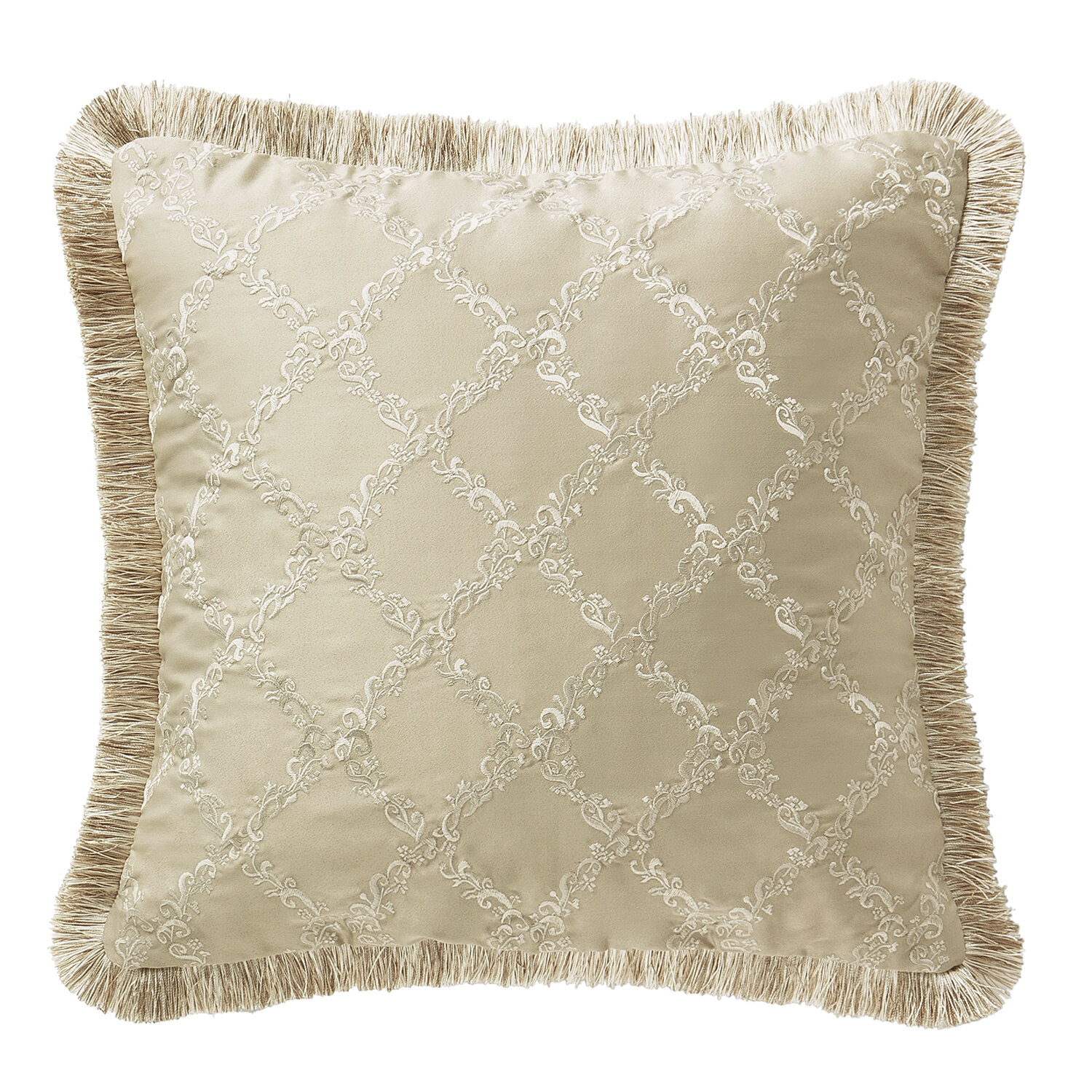 Ivory Cream Waterford Bedding Throw Pillows You Ll Love In 2021 Wayfair