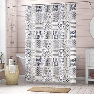 Affordable Price Hawthorn Single Shower Curtain ByLaurel Foundry Modern Farmhouse