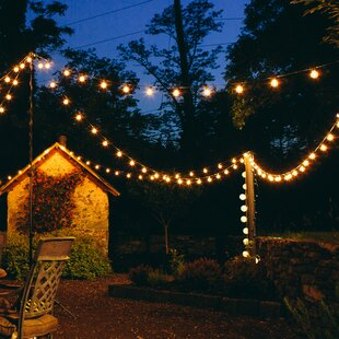 Outdoor string lights youll love wayfair save aloadofball