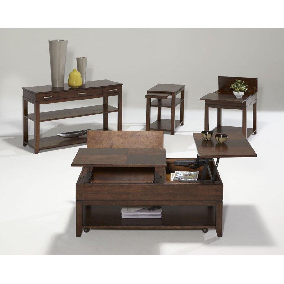 Progressive Furniture Daytona Coffee Table With Double