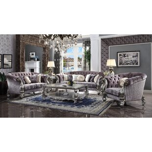 Welton 3 Piece Living Room Set by Astoria Grand