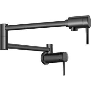 single hangle wall mount pot filler faucet